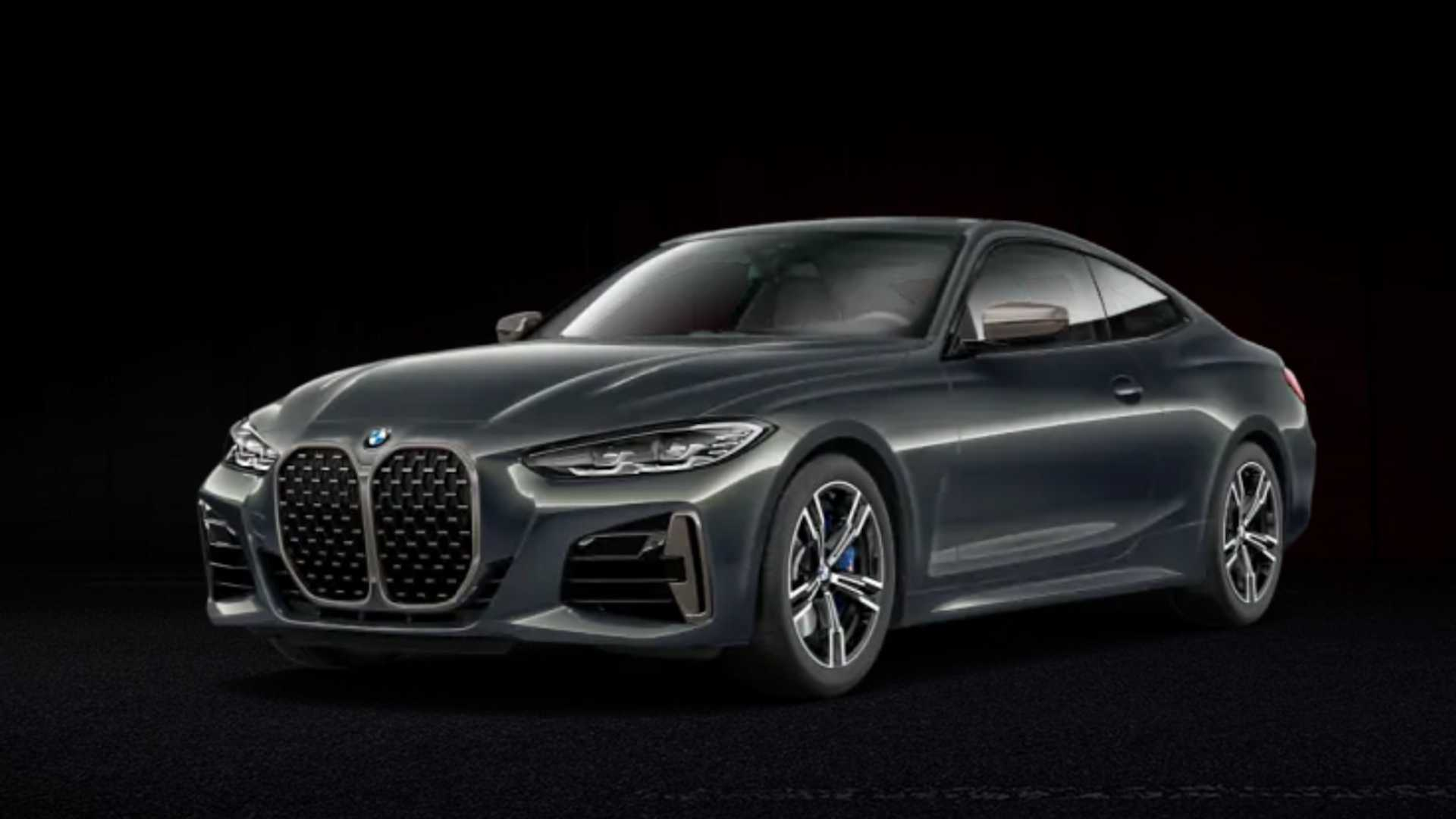 See 2021 BMW 4 Series without front license plate in ...