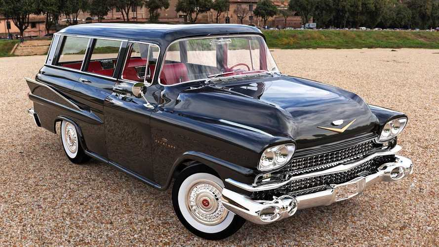 Cadillac Escalade 1959 года - независимые рендеры