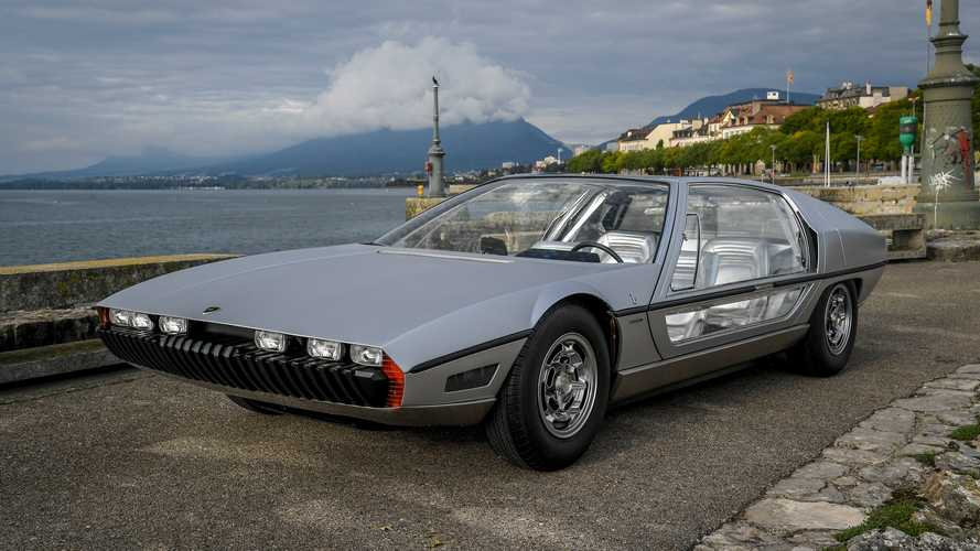 Prototipos olvidados: Lamborghini Marzal (1967)