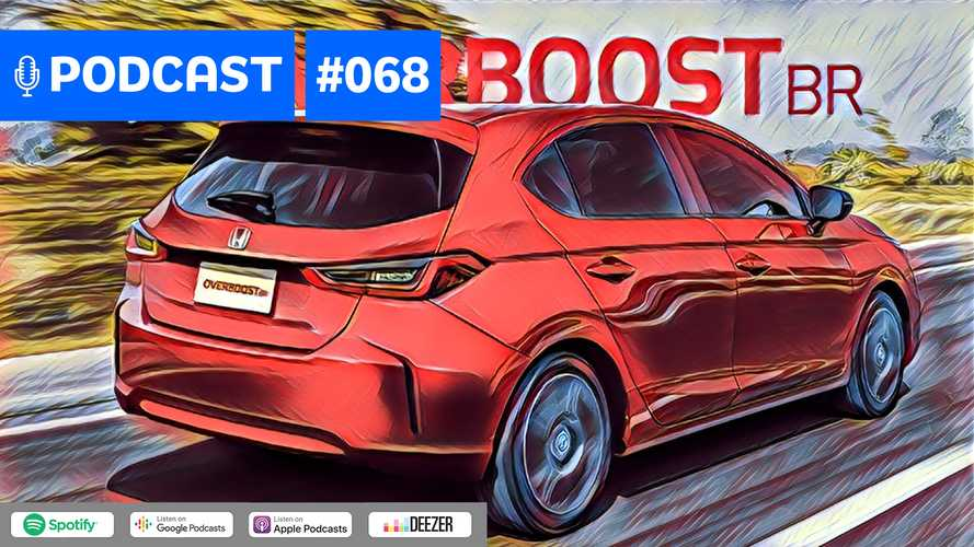 Motor1.com Podcast #68: Novo Honda City hatch vai matar o Fit no Brasil?