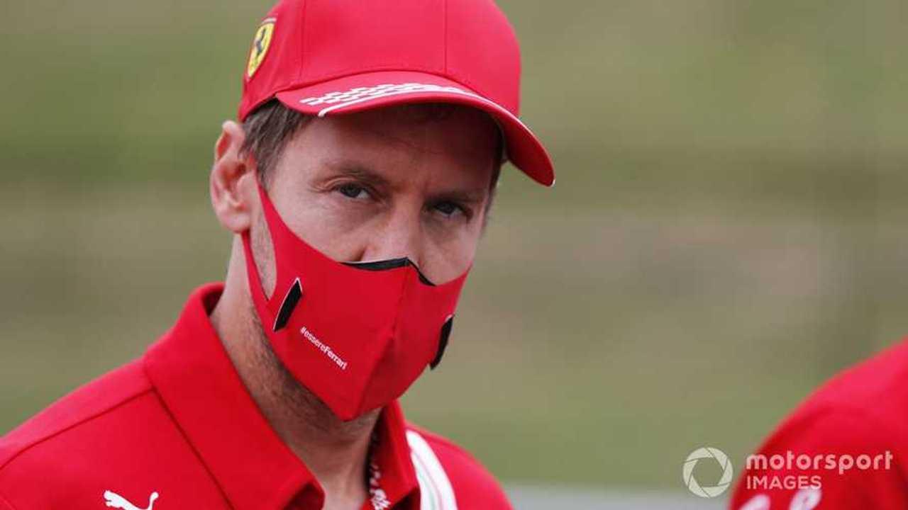 Sebastian Vettel at Hungarian GP 2020