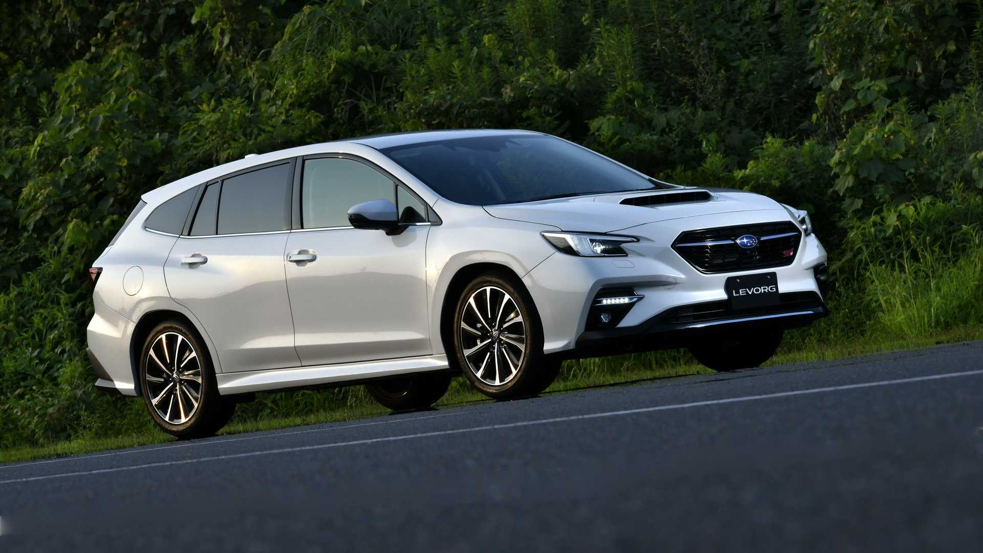 2021 subaru levorg wagon revealed could hint at next wrx