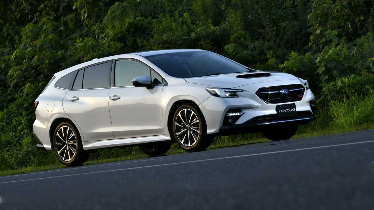 2021 Subaru Levorg production version