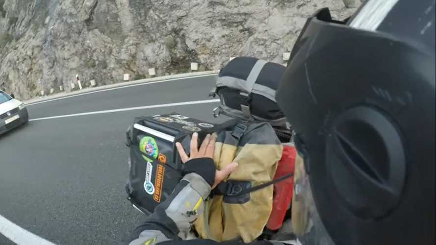 This Rider Found Out Why Croatian Winds Are No Joke