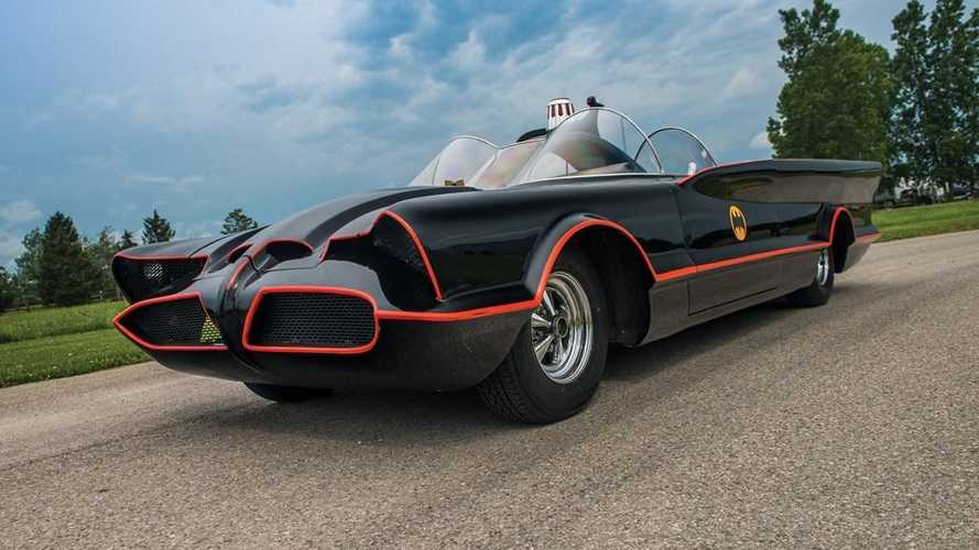 To the Batmobile! Meticulous replica enters LA auction