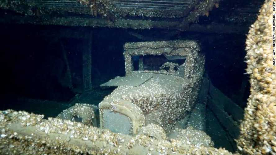 Classic 1920s Chevrolet found in Canadian shipwreck