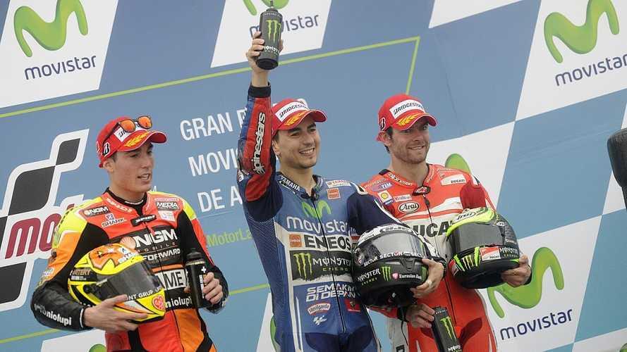 10 pilotos con un solo podio en MotoGP
