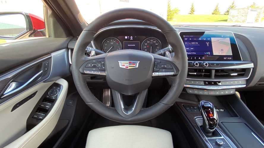 2021 Cadillac CT5, CT-5 V Getting 12-Inch Digital Driver's Display