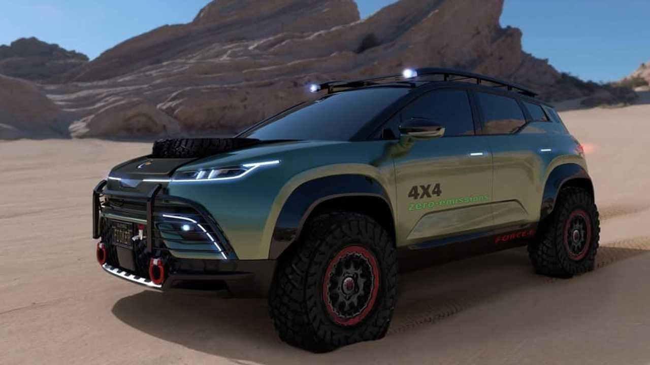 The upcoming Fisker Ocean SUV previews the brand's idea of the perfect all-electric off-road-oriented SUV with its latest release of renderings.
