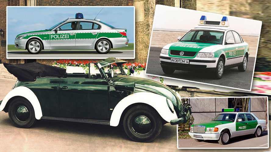 DIAPORAMA - Les voitures de la Polizei à travers l'histoire
