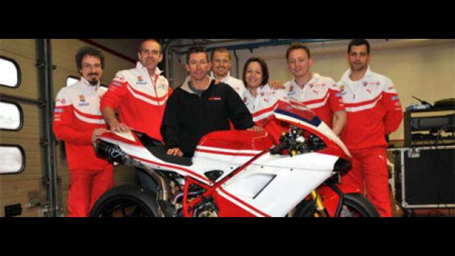 WSBK 2010: Troy Bayliss wild card Ducati a Misano