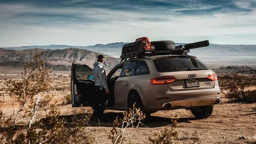 Audi A4 allroad camper