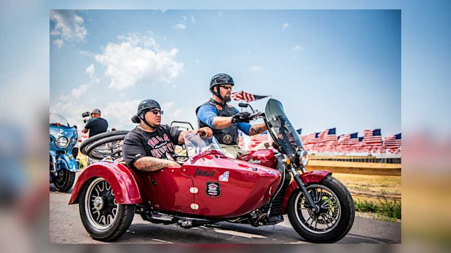 Indian Motorcycle Supports Sixth Annual Veterans Charity Ride To Sturgis