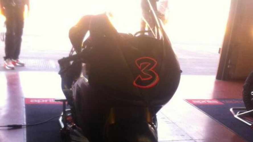 Max Biaggi al Mugello con la Aprilia ART MotoGP