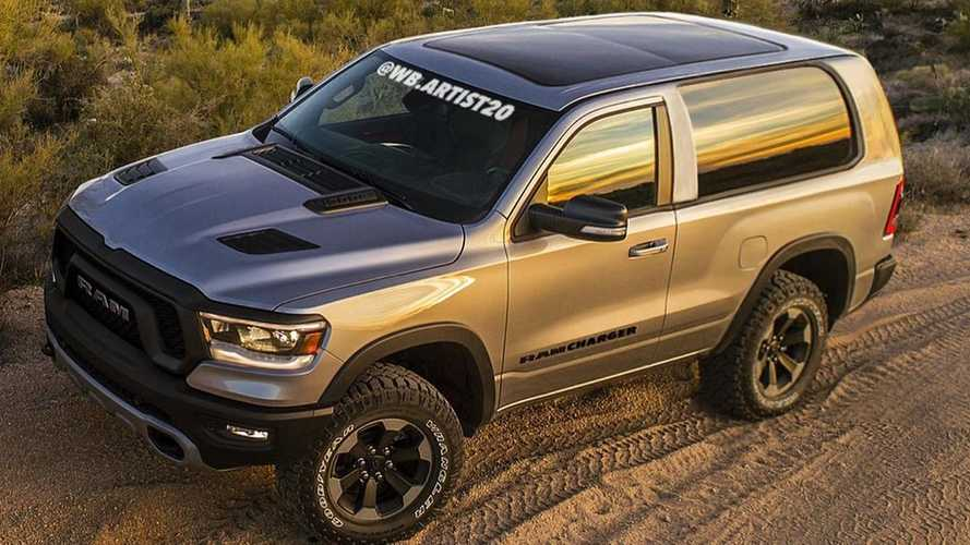 Dodge Ramcharger Rendering Brings Back A Classic SUV