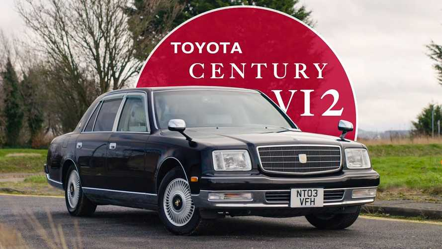 Toyota Century Video Looks Back At Company's Only V12 Car Ever