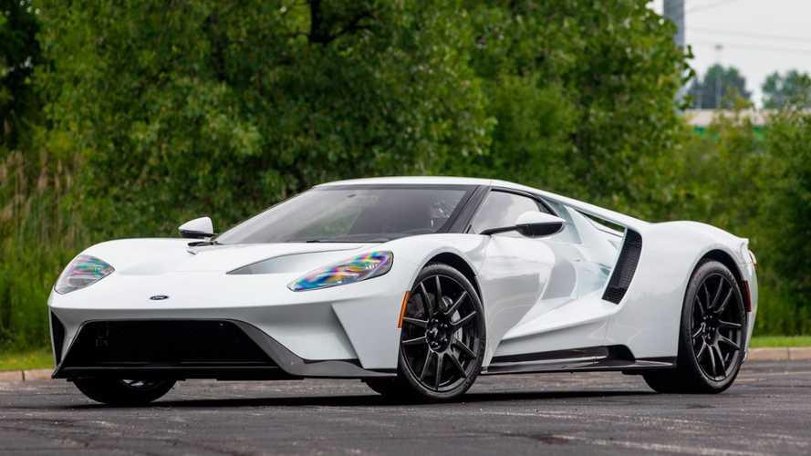 Újabb keveset használt Ford GT cserélhet gazdát a közeljövőben