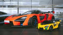 McLaren Senna Ride-On, coche de juguete