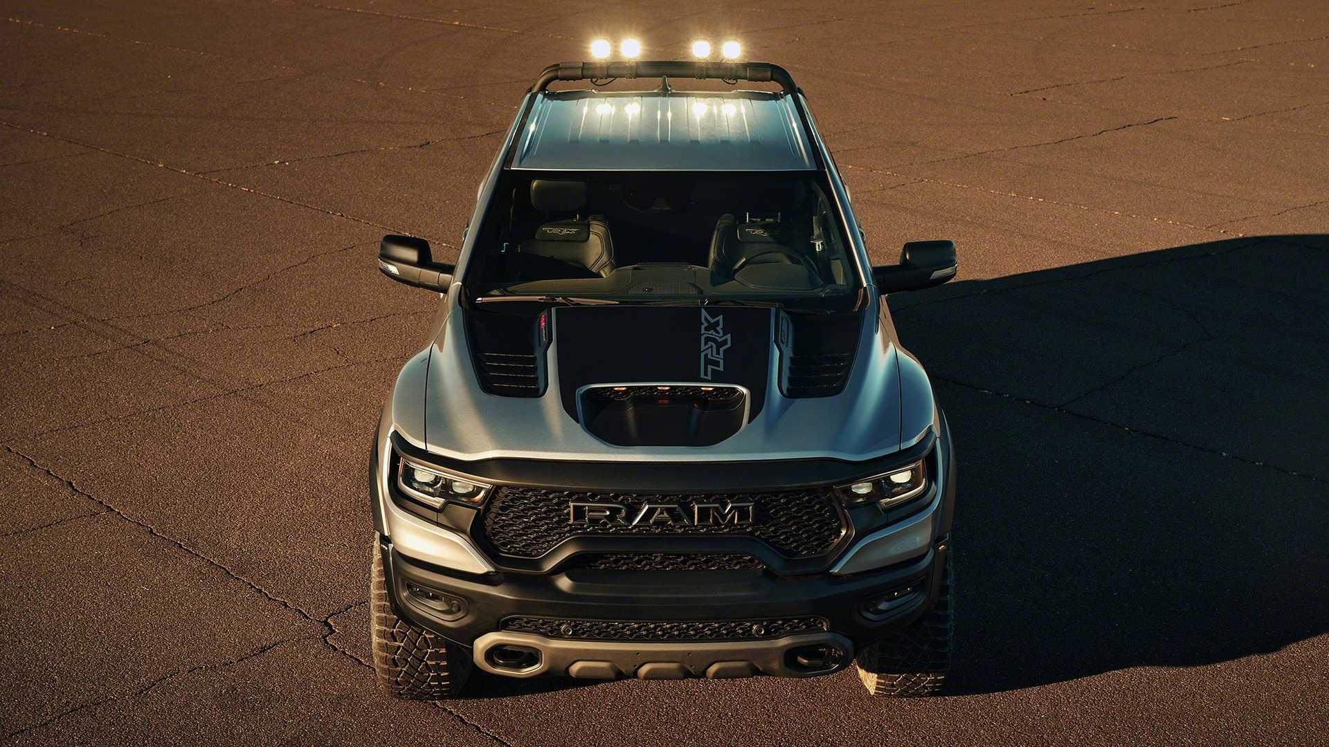 2021 Ram Trx Without The Hellcat Engine Not At Introduction