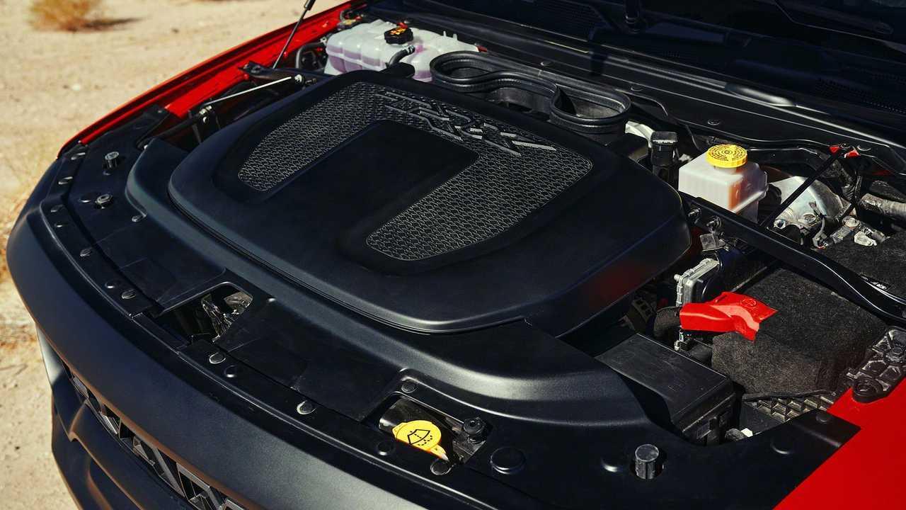 2021 Ram 1500 TRX Exterior Hellcat Engine