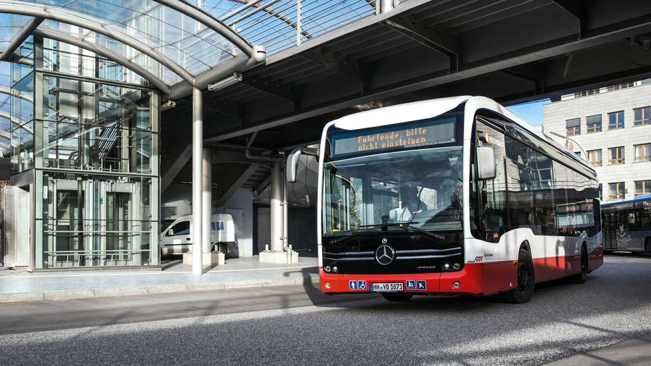 Mercedes-Benz eCitaro in Hamburger Hochbahn fleet