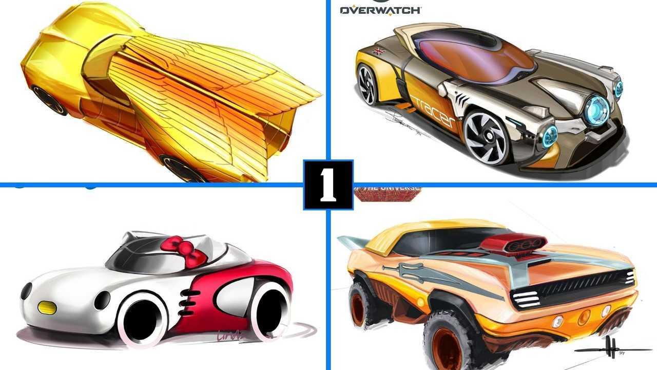 Hot Wheels Sneaks Comic-Con 2020