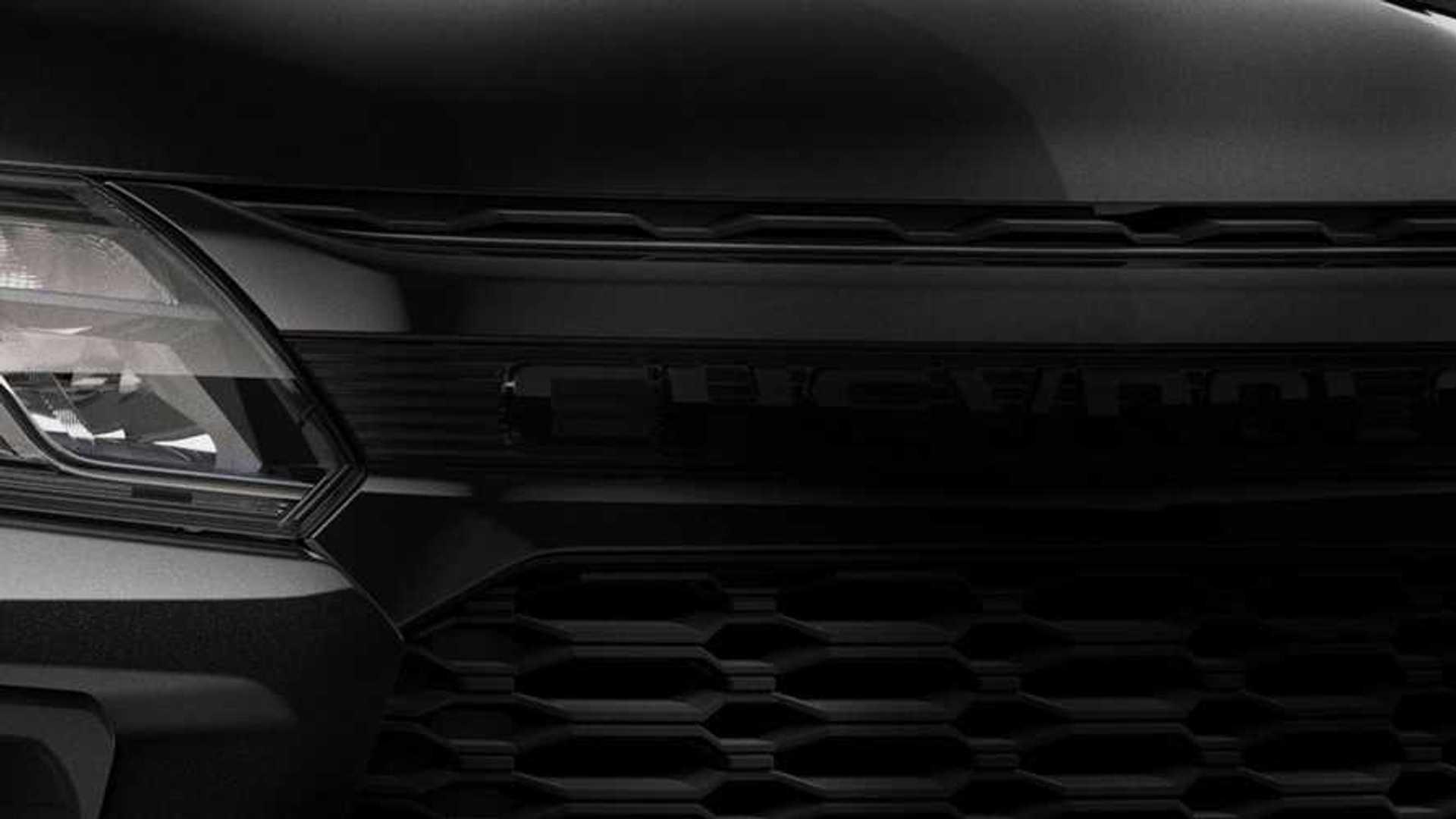 Chevrolet S10 2021 mostra grade de Colorado em primeiro teaser