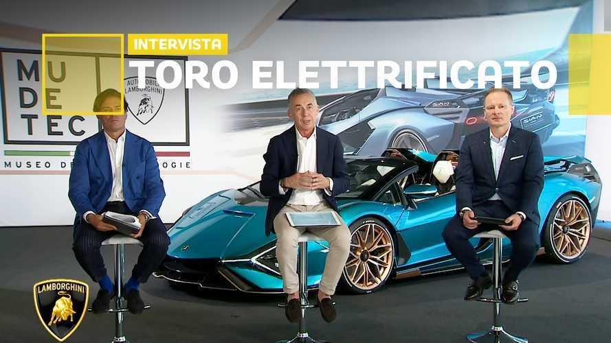 Lamborghini, dal V12 al futuro elettrico passando per i supercondensatori