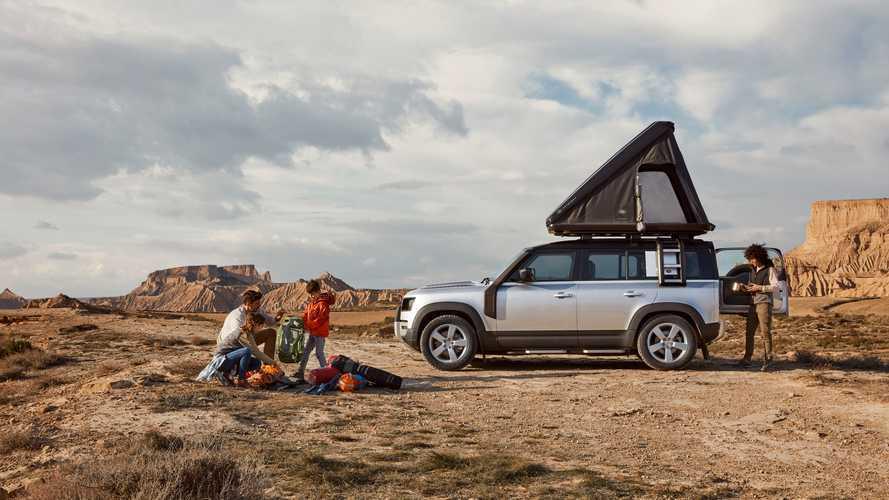 Land Rover y Autohome crean una tienda de techo para el Defender 2020