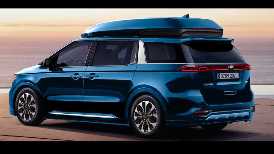 2021 kia sedona  carnival renderings  motor1 photos
