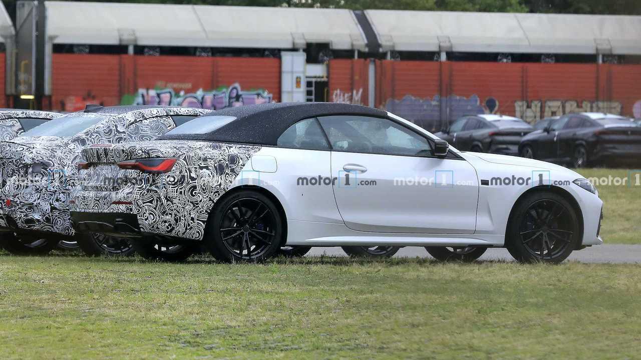 2021 BMW 4 Serisi Cabrio casus fotoğraflar