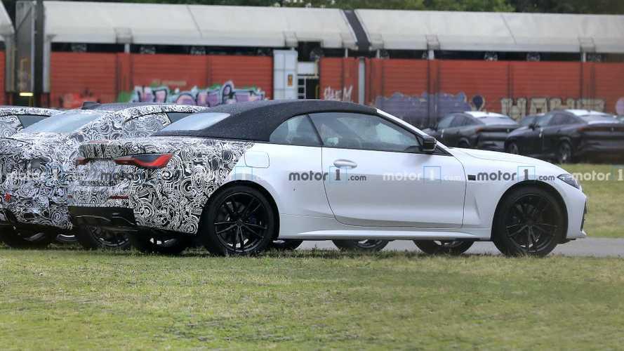 BMW 4 Serisi Cabrio neredeyse kamuflajsız yakalandı