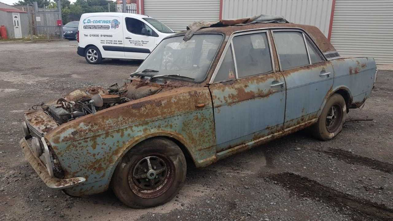 Barnfind Ford Cortina Savage isn't for the fainthearted