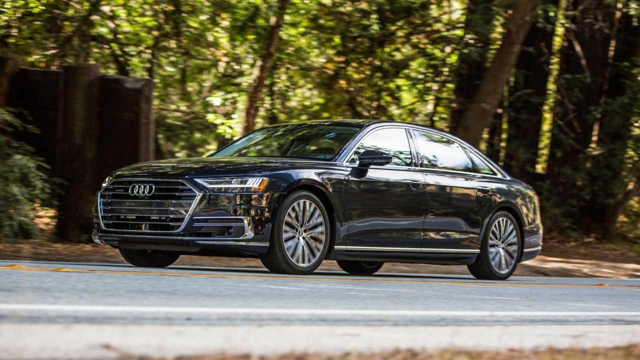 7. Audi A8: 1,599 units