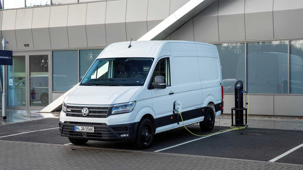 Volkswagen e-Crafter at the EV Experience Centre