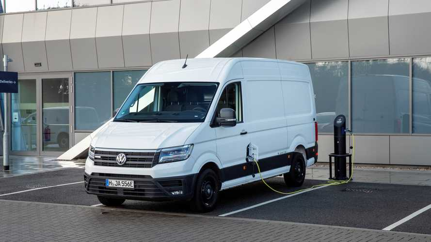 Volkswagen showcases first electric van in Milton Keynes