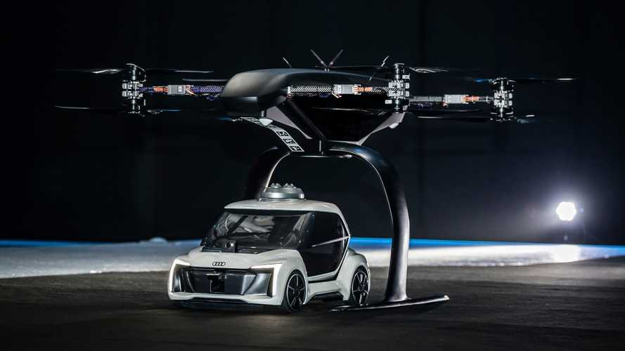 Audi's successfully tests autonomous flying taxi