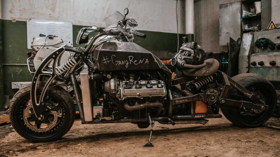 Russian Builds Wasteland-Ready, Lexus-Powered Motorcycle