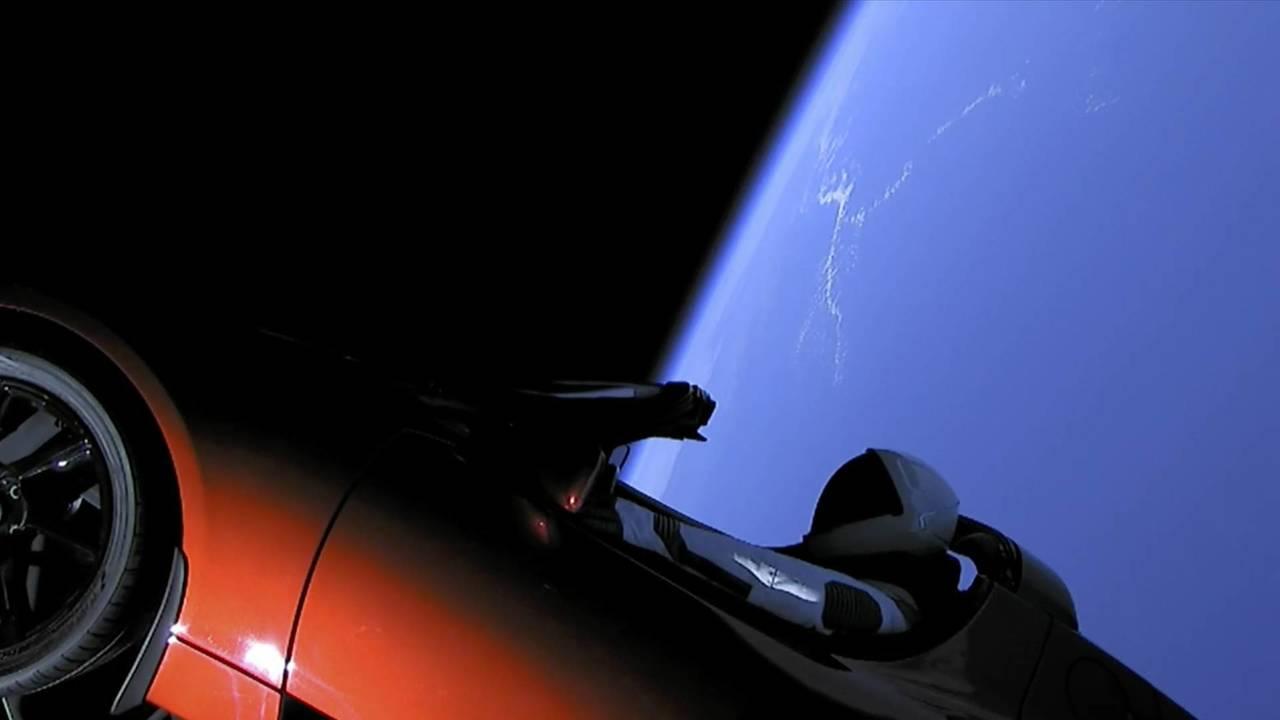 Tesla Roadster - SpaceX