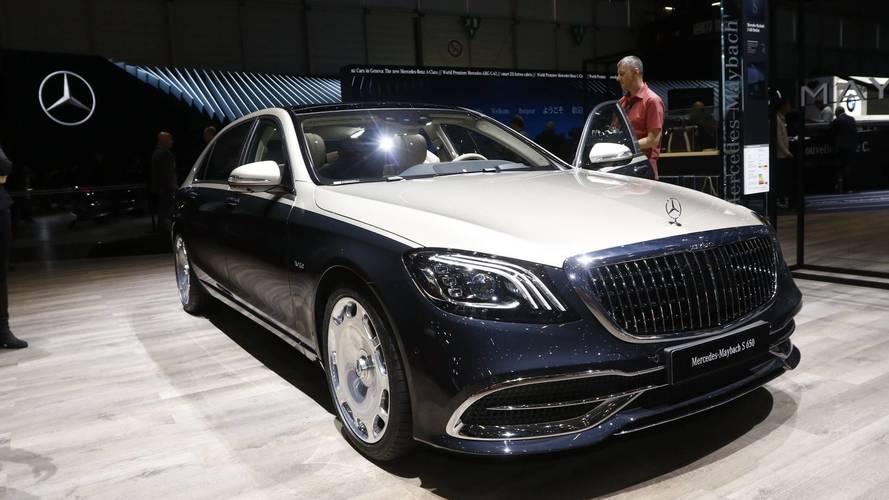 Mercedes-Maybach S-Class Live From Geneva Motor Show