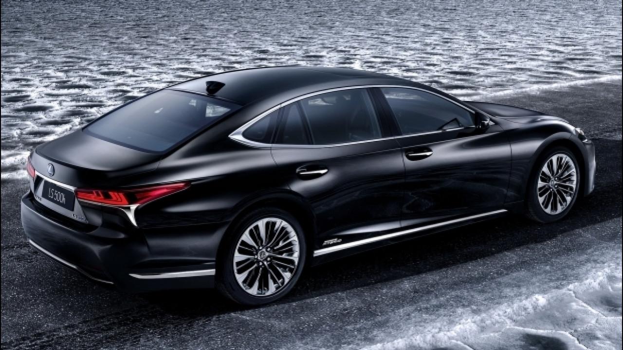 [Copertina] - Lexus LS Hybrid,