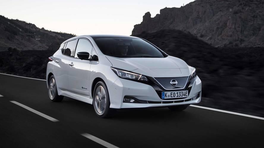 Nissan Leaf lidera vendas entre elétricos na Europa no 1º semestre