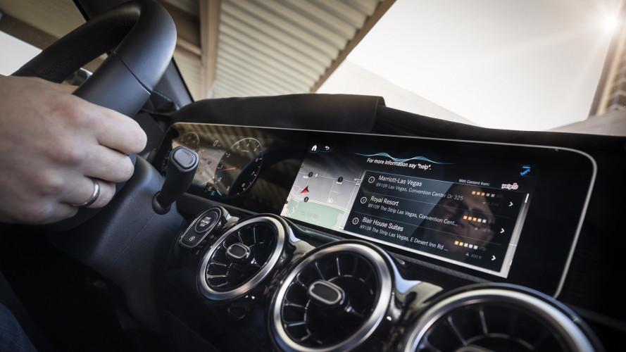 CES 2018 - La Mercedes Classe A inaugure une nouvelle interface digitale