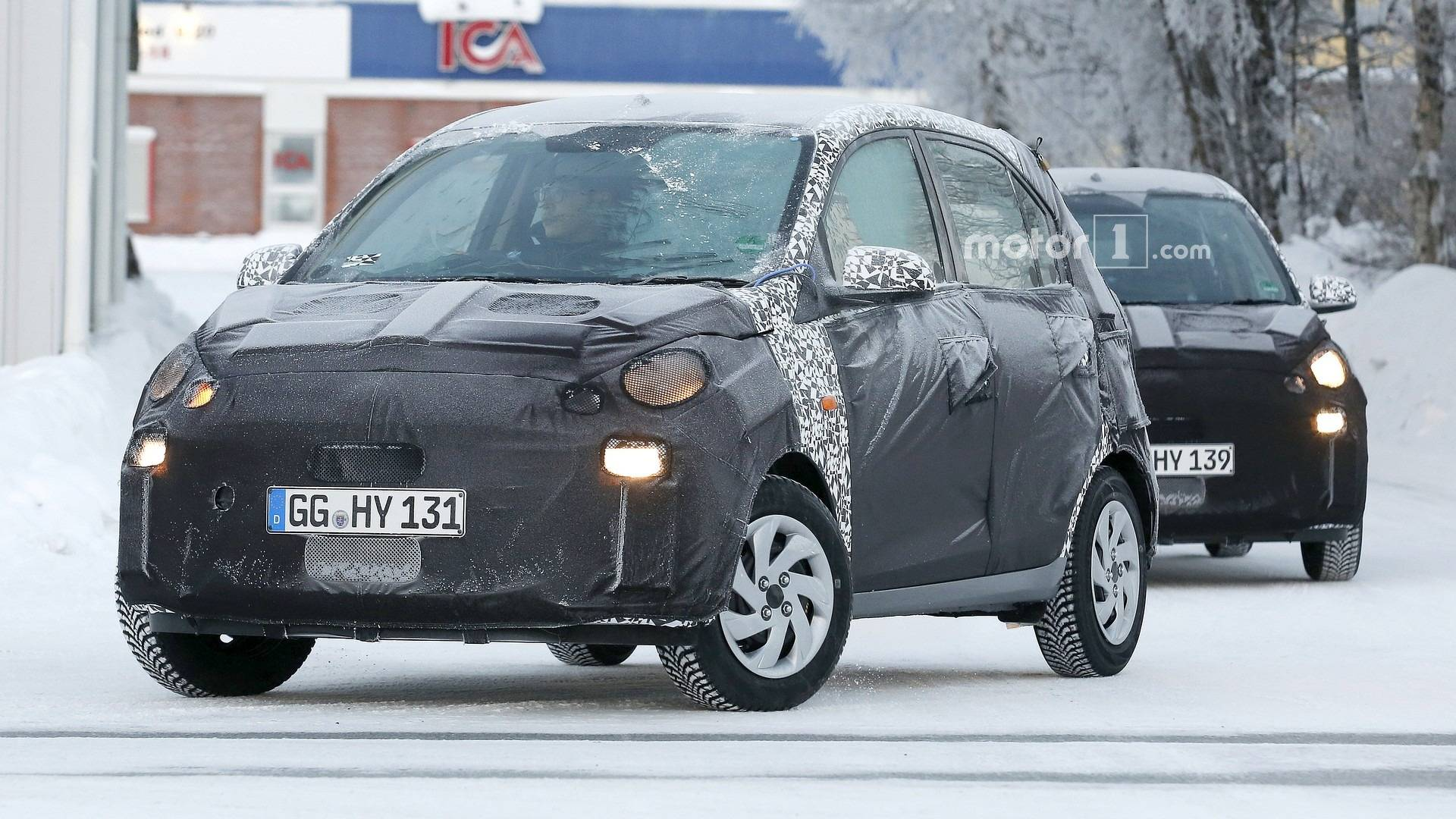 Minuscule Hyundai Santro Spied In Europe But It S For India