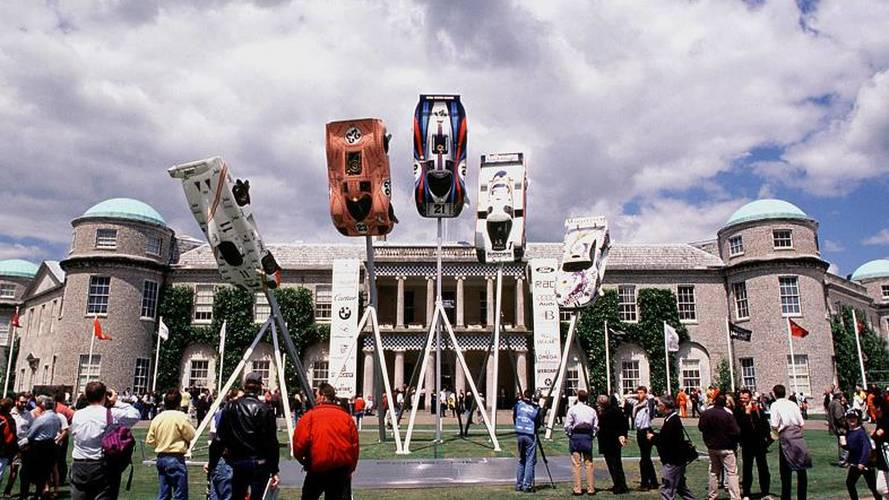 Goodwood Festival of Speed escultura central