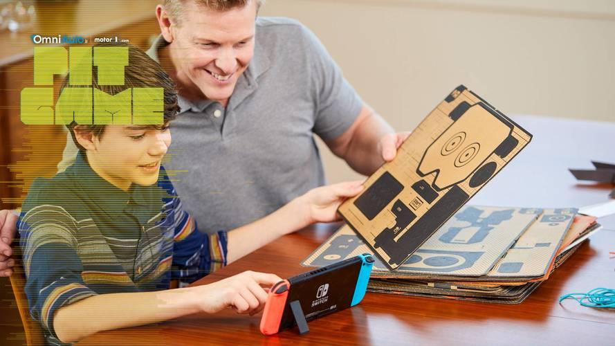 Nintendo Labo, con Switch l'immaginazione e il divertimento prendono una nuova forma
