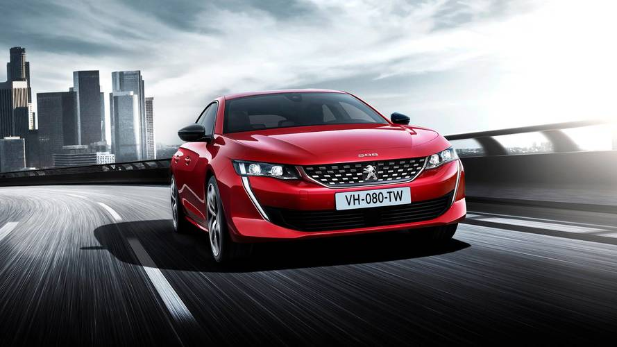 Peugeot's new 508 saloon looks tres chic