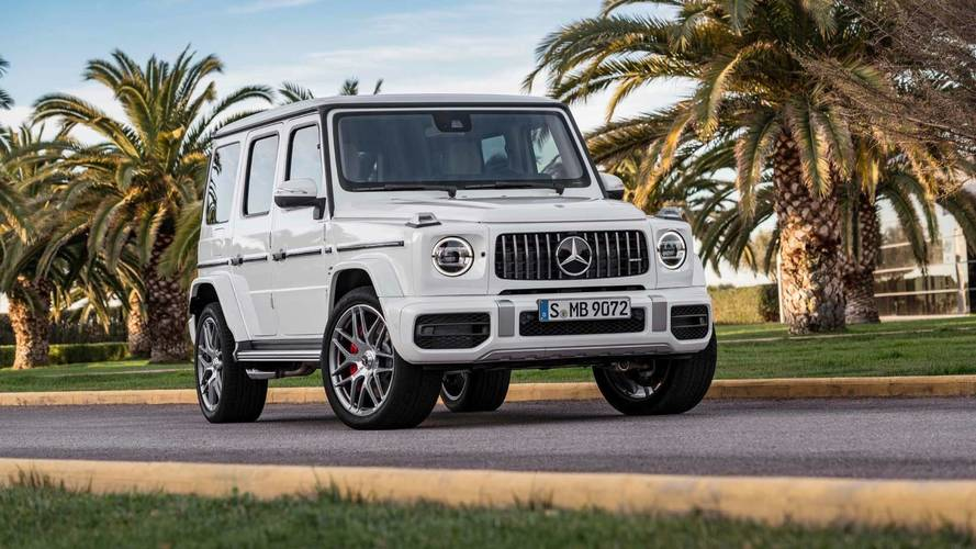 2019 Mercedes-AMG G63 Packs 577 HP, Goes 0-60 In 4.4 Seconds