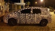 Chevrolet Spin reestilizada - Flagra