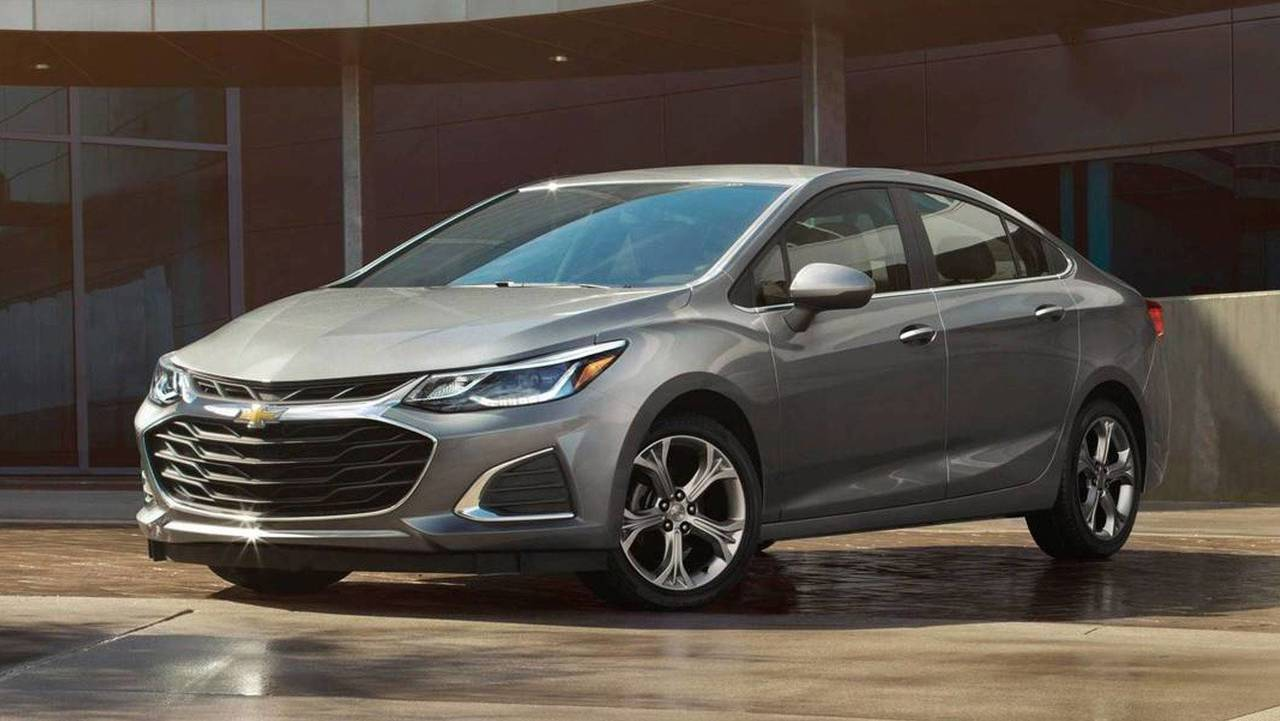 Chevrolet Cruze 2019 - Before and After